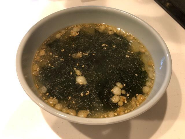 簡単!3分で出来る中華スープ