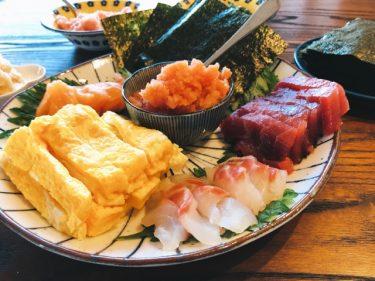 【家でも簡単に楽しくできる】手巻き寿司のレシピ・作り方